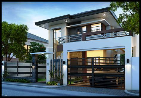 Home Design Story : Easy Ideas Modern 2 Storey House Designs