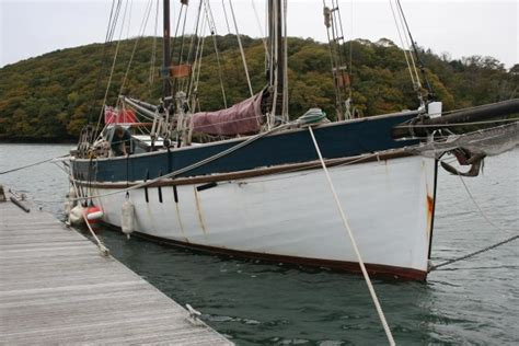 Norwegian Boats by Norwegian Gaff Ketch Wooden Sailing Yacht For Sale