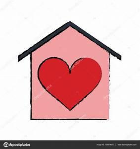 Casa Amore De : cart o de beauitful cartoon casa amor cora o vetores de stock jemastock 133819052 ~ Markanthonyermac.com Haus und Dekorationen