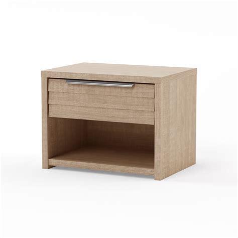 table de chevet 1 tiroir design bois clair bea miliboo
