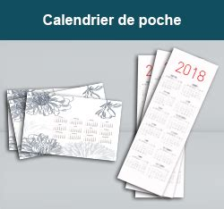 imprimer calendrier calendrier de poche calendrier chevalet calendrier sous et bancaire