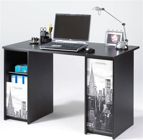 bureau gain de place table pivotante new york building noir