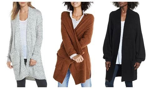 How To Wear Long Cardigans And Not Look Sloppy
