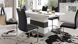 Esstisch Weiß Grau : esstisch trento wei und grau auziehbar 180 280x100 cm ~ Markanthonyermac.com Haus und Dekorationen