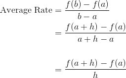 Ap Calculus Review Average Rate Of Change  Magoosh High School Blog