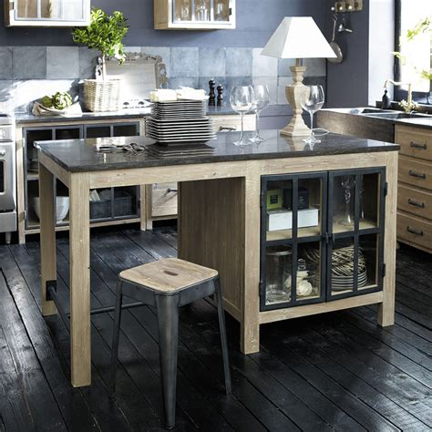 meubles de cuisine ind 233 pendant et ilot maison du monde