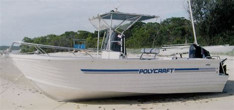 Boats Online Polycraft by New Polycraft 5 99 Frontier Centre Console Trailer Boats