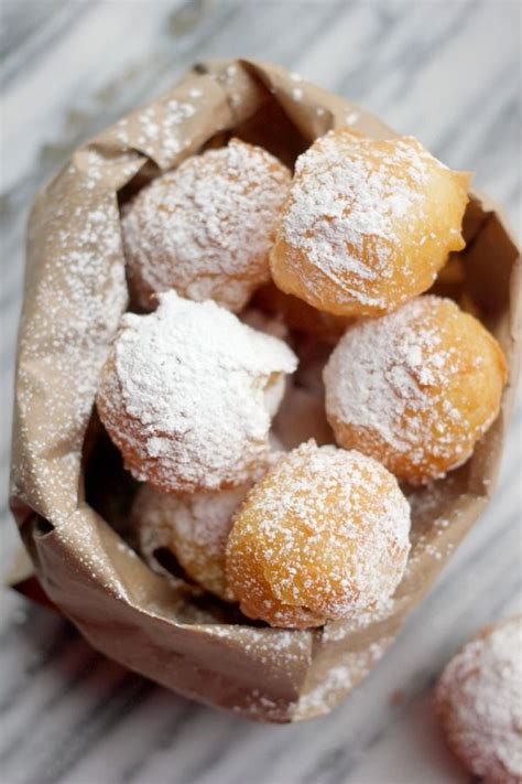 beignets with pate a choux recipe pastries and dairy