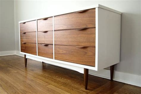 Refinished Mid Century Dresser By Harmony House