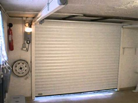 porte de garage 224 refoulement horizontal volet roulant sodelec