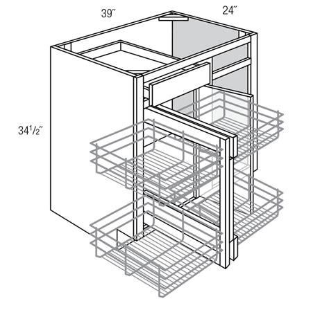bbc36 39 blind base corner cabinet plymouth rta kitchen cabinet