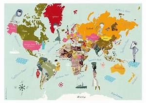Alte Weltkarte Poster : die besten 25 weltkarte poster ideen auf pinterest weltkarte landkarten poster und weltkarte ~ Markanthonyermac.com Haus und Dekorationen