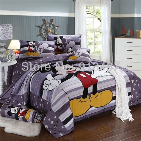 shop popular size mickey mouse bedding from china