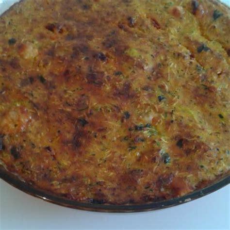 tarte courgettes comt 233 et chorizo sans p 226 te cooking chef de kenwood espace recettes