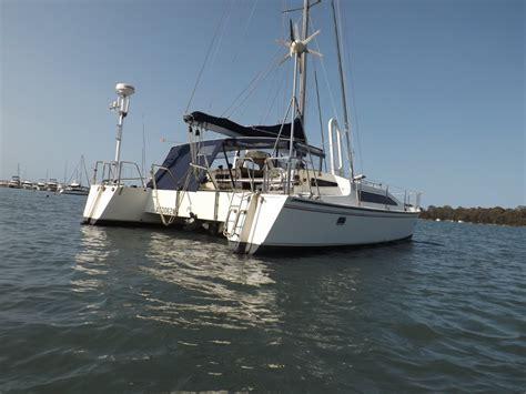 Catamarans For Sale Mackay by Banshee 35 Catamaran For Sale R A Mackay Yacht