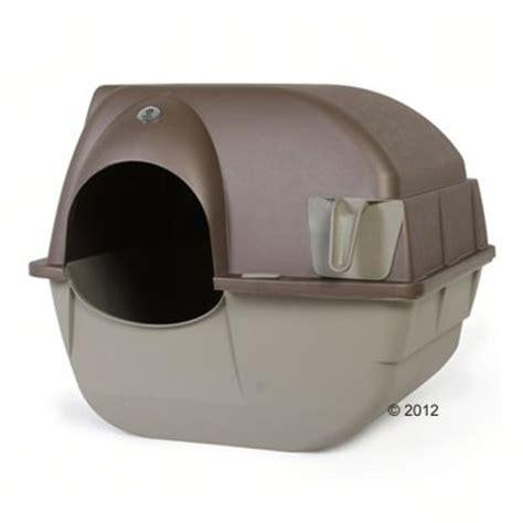 maison de toilette auto nettoyante pour chat roll n clean zooplus be