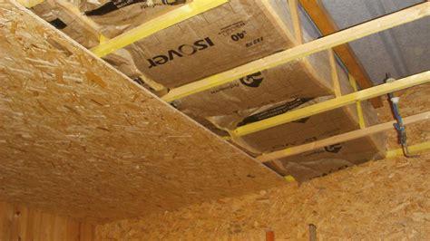 isolation plafond garage on vous donne des conseils dans cet encart