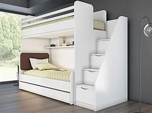 Etagenbett Abc : Hochbett mit regal treppe. treppe und wohnen auf