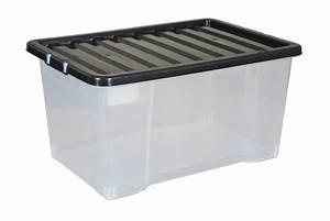 Aufbewahrungsboxen Kunststoff Mit Deckel : einzigartige black plastic storage container liter kunststoff aufbewahrungsboxen mit deckel schwarz ~ Markanthonyermac.com Haus und Dekorationen