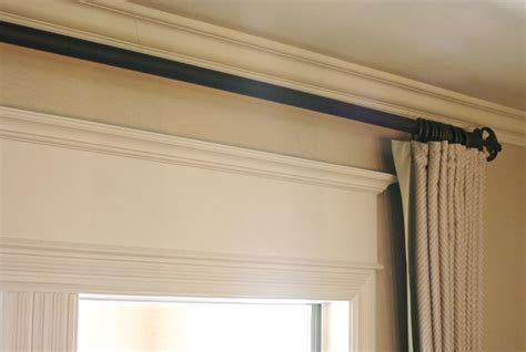 How To Dress Up A Boring Window Frame..add A 1x6 And Some Molding To Top And Paint!! Viola