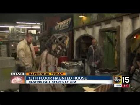 13th floor haunted house call in