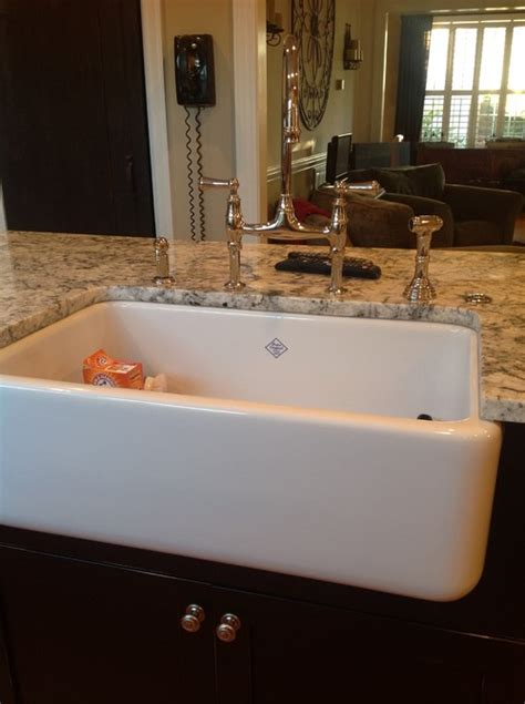 cleaning a rohl sink grid grate