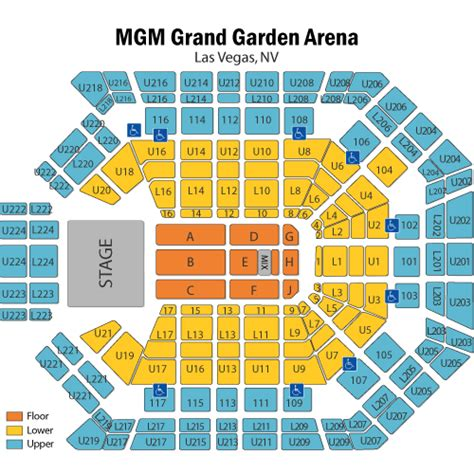 mgm grand arena floor map thefloors co