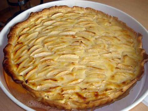 recette de tarte aux pommes 192 la cr 200 me patissi 200 re