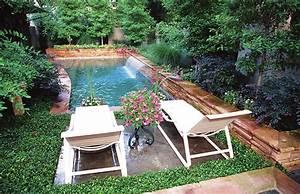 Mini Pool Design : pool natural backyard decorating ideas small backyard swimming pool ~ Markanthonyermac.com Haus und Dekorationen