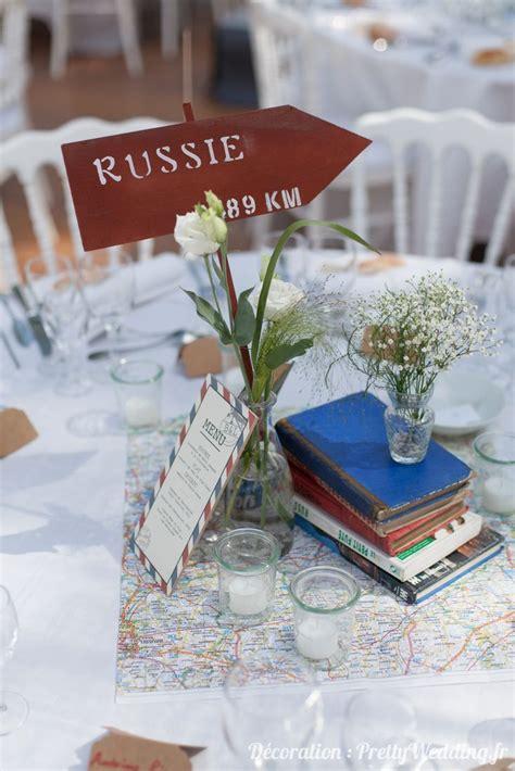 les 25 meilleures id 233 es de la cat 233 gorie mariage theme voyage sur d 233 coration table