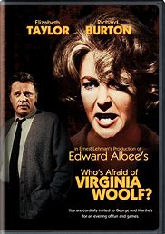 Image result for images cover play who's afraid virginia woolf