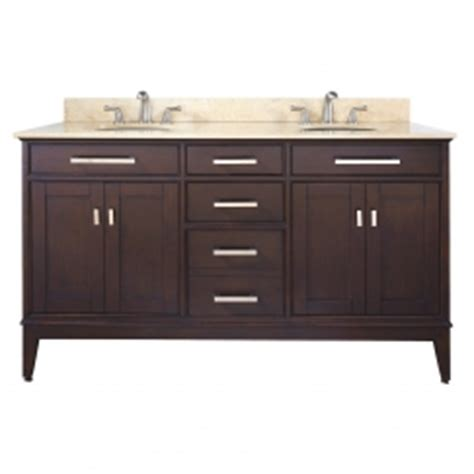 60 inch sink bathroom vanity in espresso with