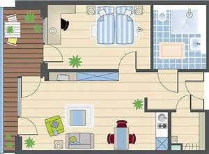 Wohnung Grundriss Zeichnen : grundrissbeispiele ~ Markanthonyermac.com Haus und Dekorationen