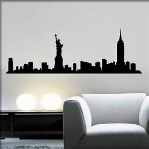 Wand Poster New York : herzkauf wandtattoo shop new york skyline online kaufen und bestellen ~ Markanthonyermac.com Haus und Dekorationen