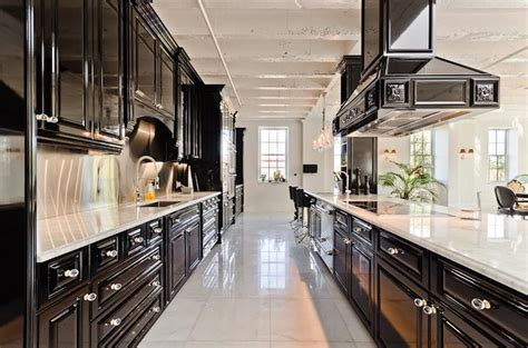 Galley Kitchen River Cottage Kitchen Small Design Ideas Yellow And Black Accessories Rustic Cabinets Contemporary Curtains Countertops Step 2 Lifestyle New Traditions Decor