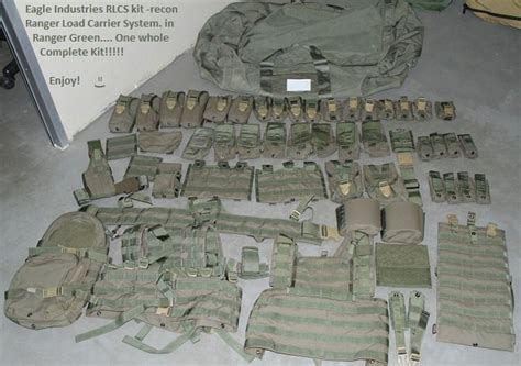 us army ranger gear list