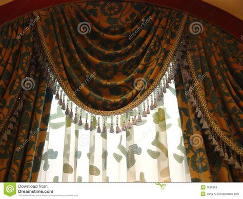 rideau de luxe images stock image 1628864