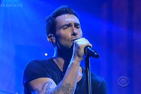 Maroon 5 Perform 'payphone' On 'letterman'