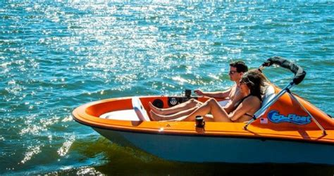 Electric Boat Vortex vortex go float electric boats cool products