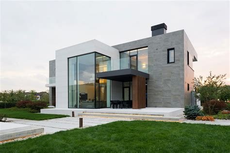 Modern Houses : Alexandra Fedorova Designs An Elegant Contemporary House