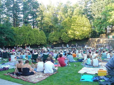 Garden Portland Concert Schedule 2016 portland concerts in the park schedule free july