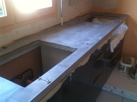 concept carrelage cr 233 ation cr 233 dence et plan de travail en 80x80 cm gris