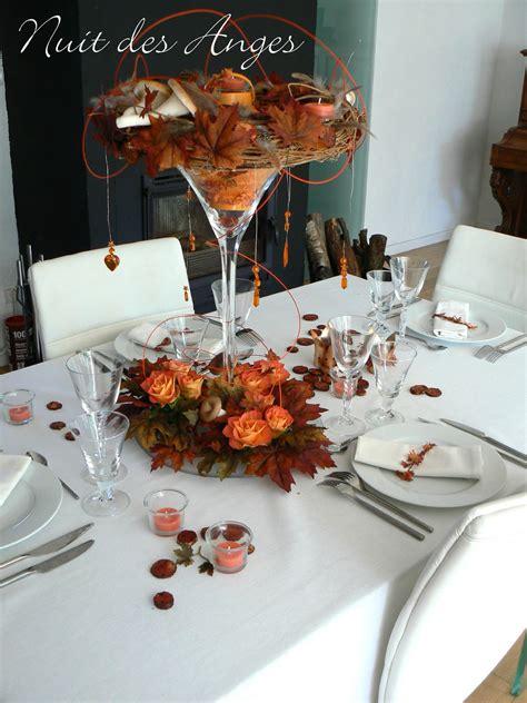 nuit des anges d 233 coratrice de mariage d 233 coration de table automne orange 002 photo de