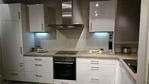 Impuls Küchen Brilon : impuls musterk che l k che wei hochglanz l 3600 mm x 1900 mm ausstellungsk che in kiel von ~ Markanthonyermac.com Haus und Dekorationen