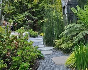 Japanisches Beet Anlegen : 61 ideen f r bambus im garten als sichtschutz oder deko ~ Markanthonyermac.com Haus und Dekorationen