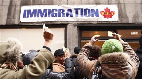 les immigrants ha 239 tiens sans statut ont jusqu au 4 ao 251 t pour r 233 gulariser leur situation au canada