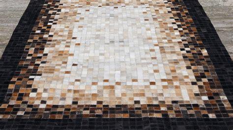 tapis en peaux de vache haut de gamme tapis patchwork