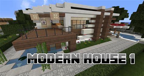 minecraft construction maison moderne 233 quipement de maison