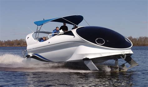 Pedal Catamaran Hydrofoil by Dark Roasted Blend Great New Hydrofoil Submersible Concepts