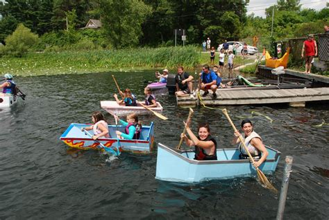 How To Make A Cardboard Boat With Only Duct Tape by Cardboard Boat Races